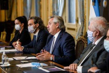 Alberto Fernández mantuvo una videoconferencia con gobernadores y gobernadoras
