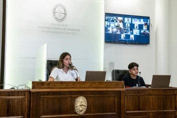 Concluyó la edición 2020 del Senado Juvenil Entrerriano