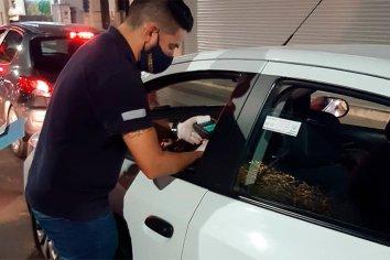 Retuvieron seis remises por alcoholemia positiva en Paraná