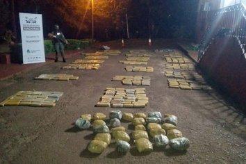 Gendarmería secuestró más de media tonelada de marihuana