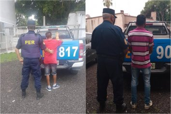 Dos hombres fueron detenidos tras conflicto familiar