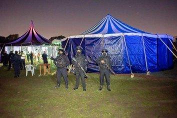Desbaratan una fiesta clandestina con más de 1.200 personas