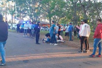 Conductor en estado de ebriedad, atropelló a siete jóvenes en un camping