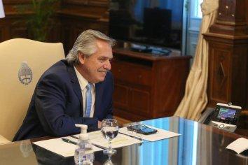 Fernández habló con Joe Biden