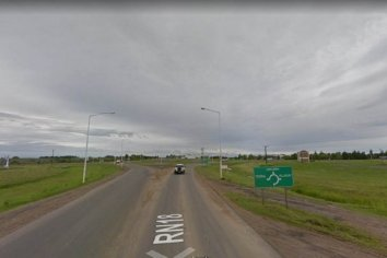 Encontraron a una joven semidesnuda, desorientada en la Ruta 18