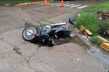 Motociclistas fueron colisionadas por un conductor que se dio a la fuga
