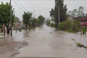 La provincia asiste a las localidades afectadas por las lluvias