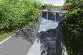 Bahl firmó el llamado a licitación para la obra del puente en calle Manuel Gálvez
