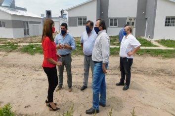 Presentan un gran avance las viviendas que se ejecutan en Villaguay con fondos provinciales