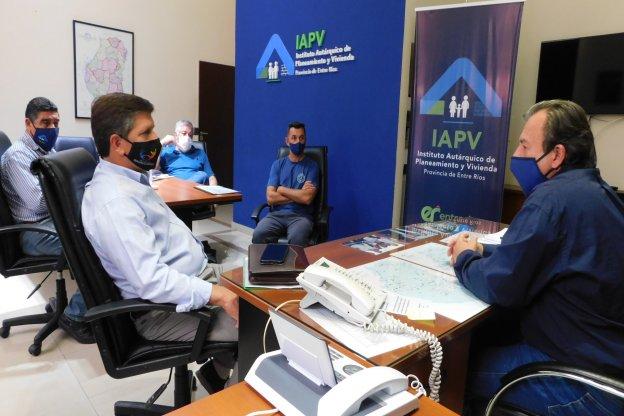 La provincia trabaja en soluciones habitaciones para Basavilbaso