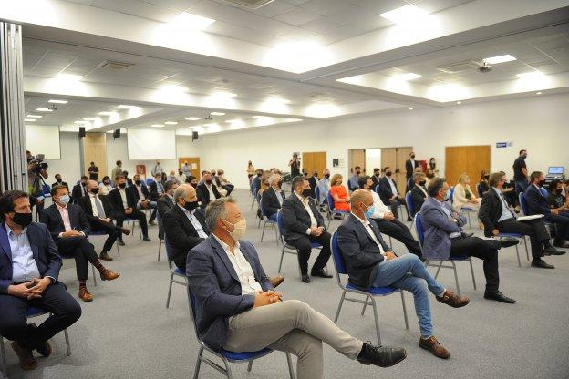 Empresarios y productores valoraron el diálogo con el gobernador y los ministros nacionales