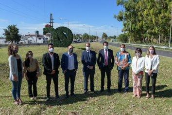 Ministros de la Nación visitaron Paraná y recorrieron la obra del Acceso Sur