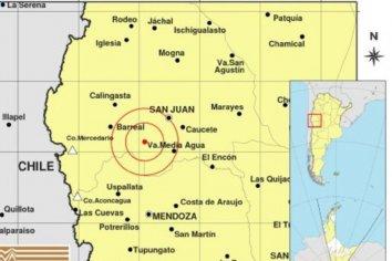 Nuevo temblor volvió a sacudir fuerte a San Juan