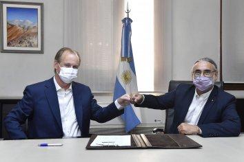 Bordet firmó un convenio con Nación para financiar el desarrollo del sector foresto industrial