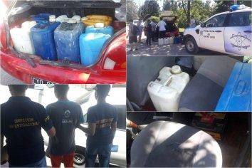 Detuvieron a un trabajador municipal por robar gasoil y otros elementos de la Planta Asfáltica