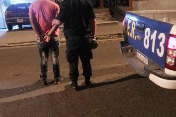 Un hombre fue detenido por golpear a su ex pareja