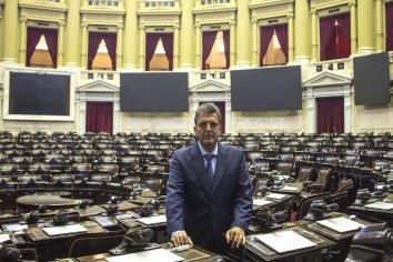 """Sergio Massa: """"Una amnistía para los casos de corrupción sería un gran error"""""""