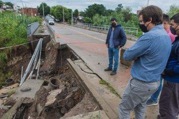 La municipalidad asistió a familias afectadas por el temporal