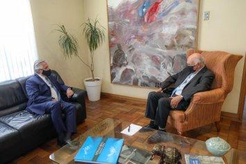Alberto Fernández mantuvo una reunión con Ricardo Lagos