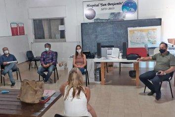 Efectores de Salud de la costa del Uruguay articulan acciones para reforzar la red de cuidados críticos