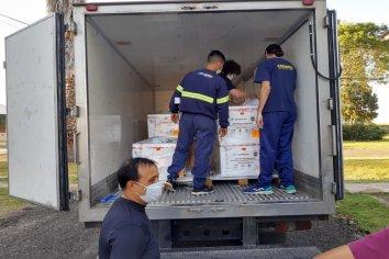 Continúa en Entre Ríos la distribución de vacunas contra el Covid