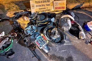 Fueron por una moto y encontraron partes de otros rodados robados