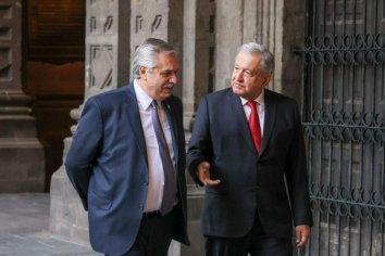 Alberto Fernández mantuvo una intensa agenda de trabajo con su par de México, Andrés Manuel López Obrador