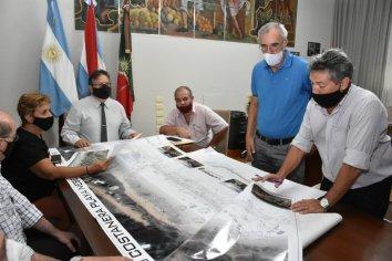 Provincia y el municipio de Concordia articulan acciones para la nueva Costanera Nébel