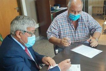 """""""IOSPER y Femer firmaron el acta acuerdo y se restituye la atención a los afiliados de la Obra Social"""""""