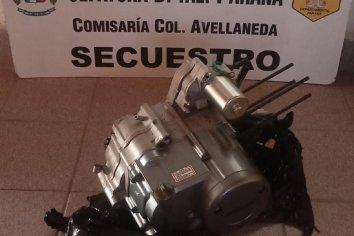 Allanamiento en un vivienda de Colonia Avellaneda
