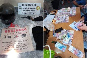 Robo a Estación de Servicio: Hallaron casi la totalidad del dinero sustraído y detuvieron a dos personas
