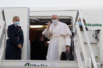 El papa Francisco llegó a Irak e inició una visita histórica y riesgosa
