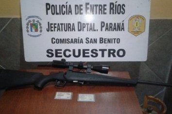 San Benito: Discutió con su pareja, la encerró en su casa y la amenazaba con un fusil