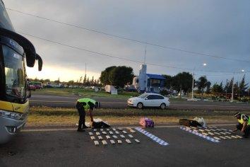 Secuestraron 49 ladrillos de marihuana en Paso Cerrito