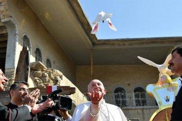 """Papa Francisco: """"La paz es más fuerte que la guerra"""""""