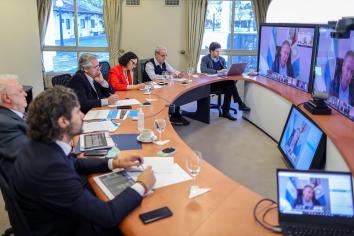 Nación y gobiernos provinciales se reúnen para definir el nuevo DNU