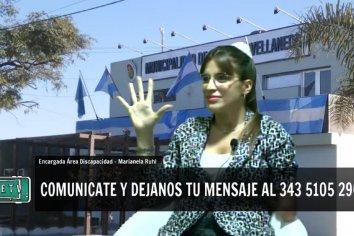 """Marianela Ruhl: """"No hay límites en el trabajo en Discapacidad desde lo Público""""."""