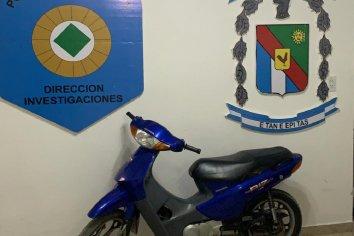 Personal de Robos y hurtos recuperó una moto que fue robada en año 2014