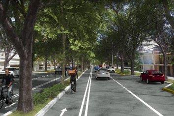 Vecinos apoyan la obra integral en avenida Racedo
