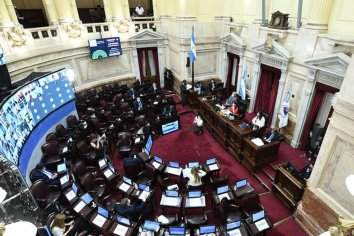 El Senado comienza a debatir la Ley de Emergencia Covid