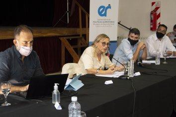 Provincia y Nación trabajan en el fortalecimiento de las políticas alimentarias en el territorio entrerriano