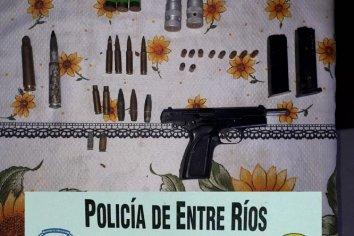 Secuestraron cartuchos y armas involucradas en un hecho delictivo