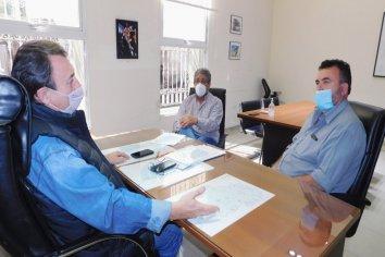 Analizaron la política habitacional con representantes de Uocra