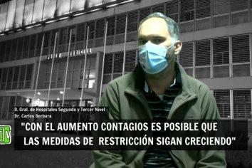 """Berbara: """"Con los números de Buenos Aires y el AMBA, es posible que haya más restricción""""."""