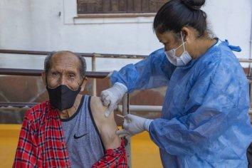 Continúa el proceso de vacunación en la Escuela Hogar