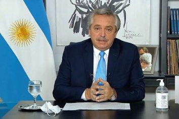 Fernández celebró que EEUU apoye la suspensión de patentes de las vacunas