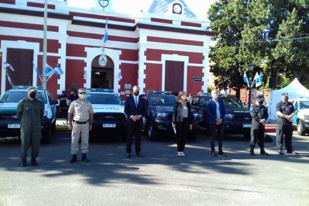 Entregaron equipamiento en las 4 fuerzas federales del Litoral