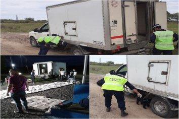 Descubrieron en una camioneta térmica cerca de 306 kilos de marihuana
