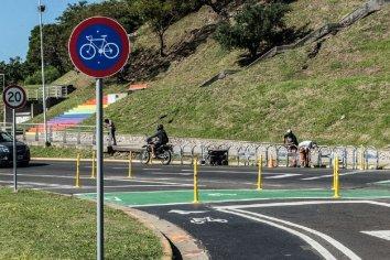 La Bicivía en la Costanera Baja quedará oficialmente habilitada el próximo 5 de mayo