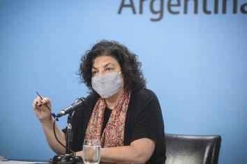 """""""Esta semana se comenzará a ver el resultado de las medidas de cuidados intensivos"""" aseguró Vizzotti"""